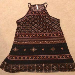 Black long top/dress by xhilaration
